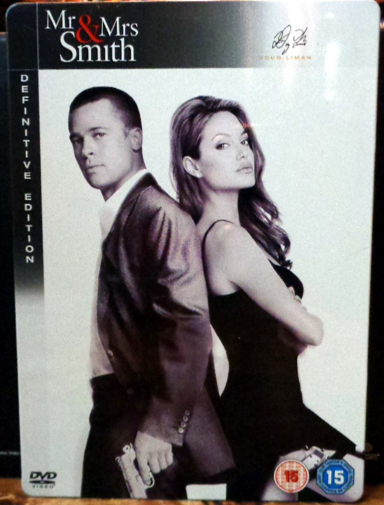 Movies On Dvd And Blu Ray Mr And Mrs Smith 2005
