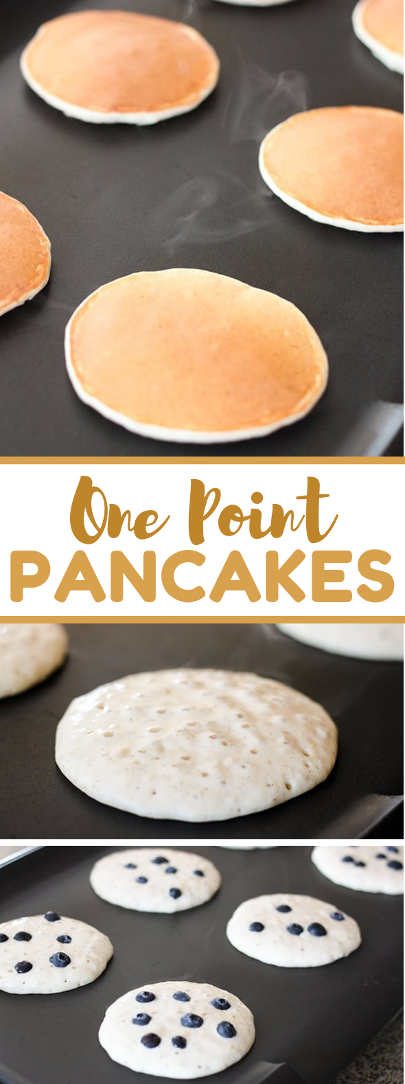 SKINNY ONE POINT WEIGHT WATCHER PANCAKES #diet #favoriterecipes