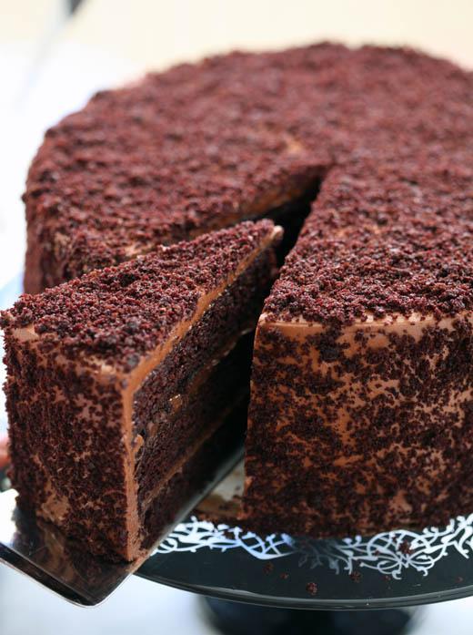 The Hummingbird Bakery Brooklyn Blackout Cake
