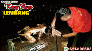 catering kambing guling di villa enggal lembang