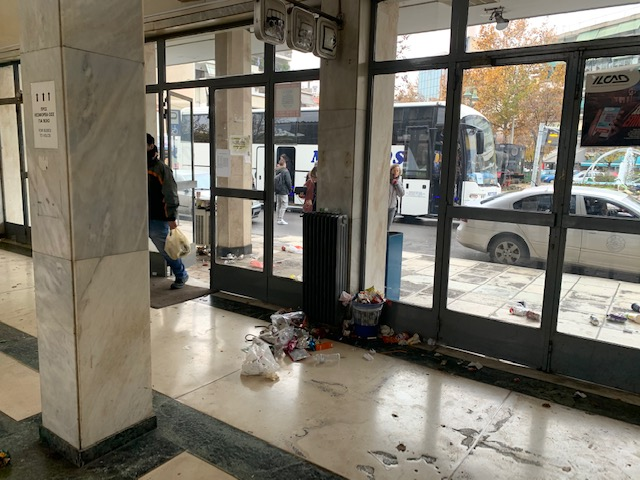 Ο Δήμος Λαρισαίων για την καθαριότητα στις εγκαταστάσεις του Σιδηροδρομικού Σταθμού