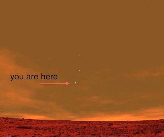 UNIQUE UNUSUAL OR INTERESTING: View of Earth From Mars ...