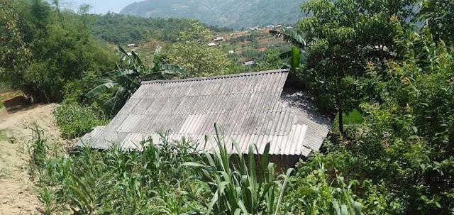Ngôi nhà của vợ chồng anh Giàng Seo T.