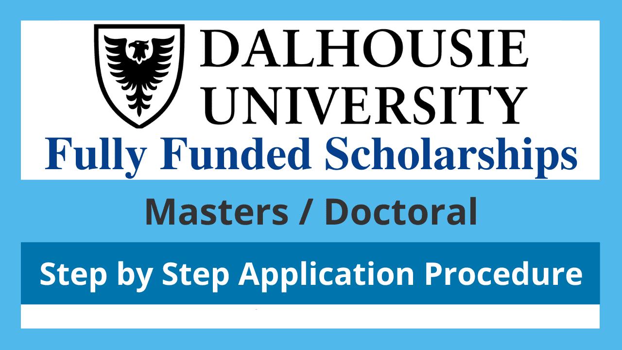 منحة جامعة Dalhousie الدراسية 2022 (ممولة بالكامل)