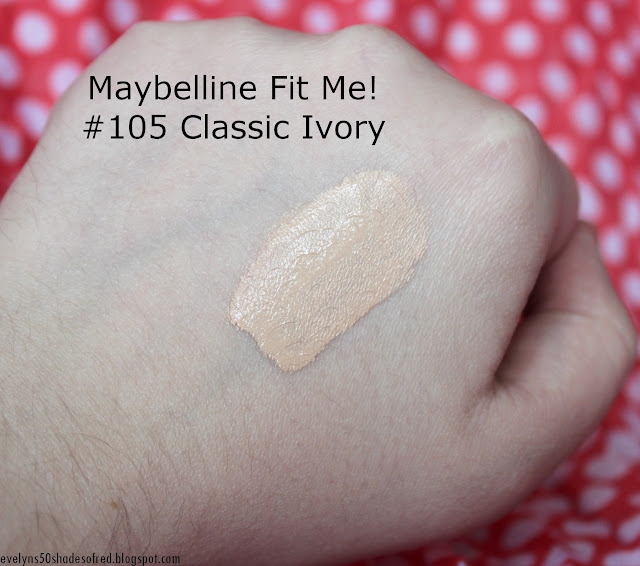 Maybelline Fit Me 105 Natural Ivory