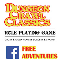 Free GM Resource: DCC Adventures on Facebook