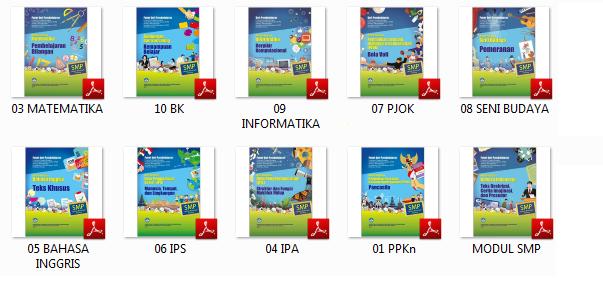 Download Buku - Modul PKP Guru SMP Semua Mapel Tahun 2019/2020
