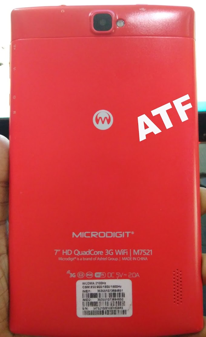 MICRODIGIT M7521 FLASH FILE FIRMWARE MT6580 ANDROID 5.1