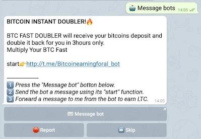 cara claim ltc click bot telergram
