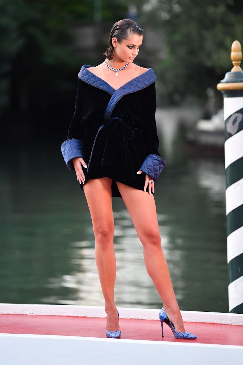 Taylor Hill  at Amants Photocall at 77th Venice Film Festival 3 Sep- 2020