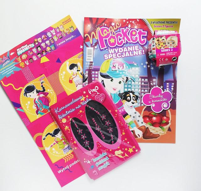 Magic Pocket Wydanie specjalne | Pieczątki z bohaterami My Little Pony oraz Psi Patrol | Wydawnictwo Media Service Zawada