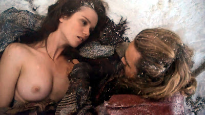 Spartacus women nude scenes are