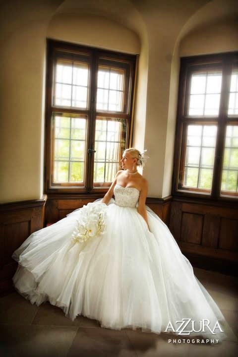Flora Nova, destination wedding, historic castle, white orchids, vintage wedding