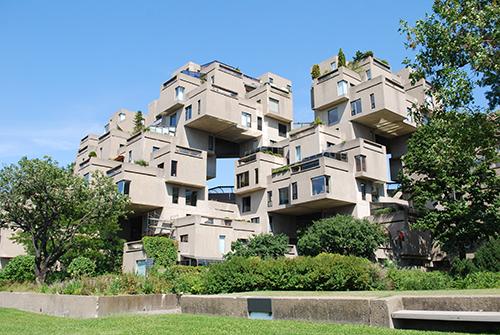 Edificio modular Habitat 67 - Montreal