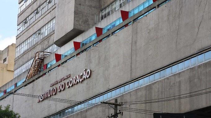 CORAÇÃO EM CHAMAS;  Incêndio no Instituto do Coração em São Paulo
