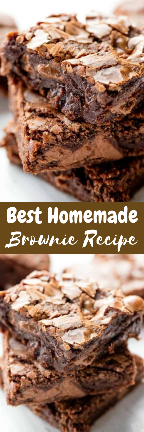 BEST BROWNIE RECIPE EVER #dessert #brownies #recipes #cake #bars