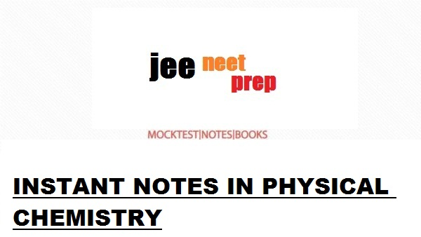INSTANT NOTES IN PHYSICAL CHEMISTRY[PDF]