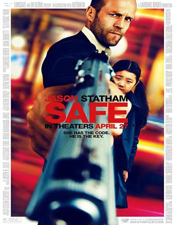 Safe 2012 Full Hindi Dual Audio 300MB BluRay 480p