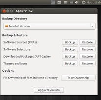 New Application Aptik to Backup/Restore PPAs, Packages in