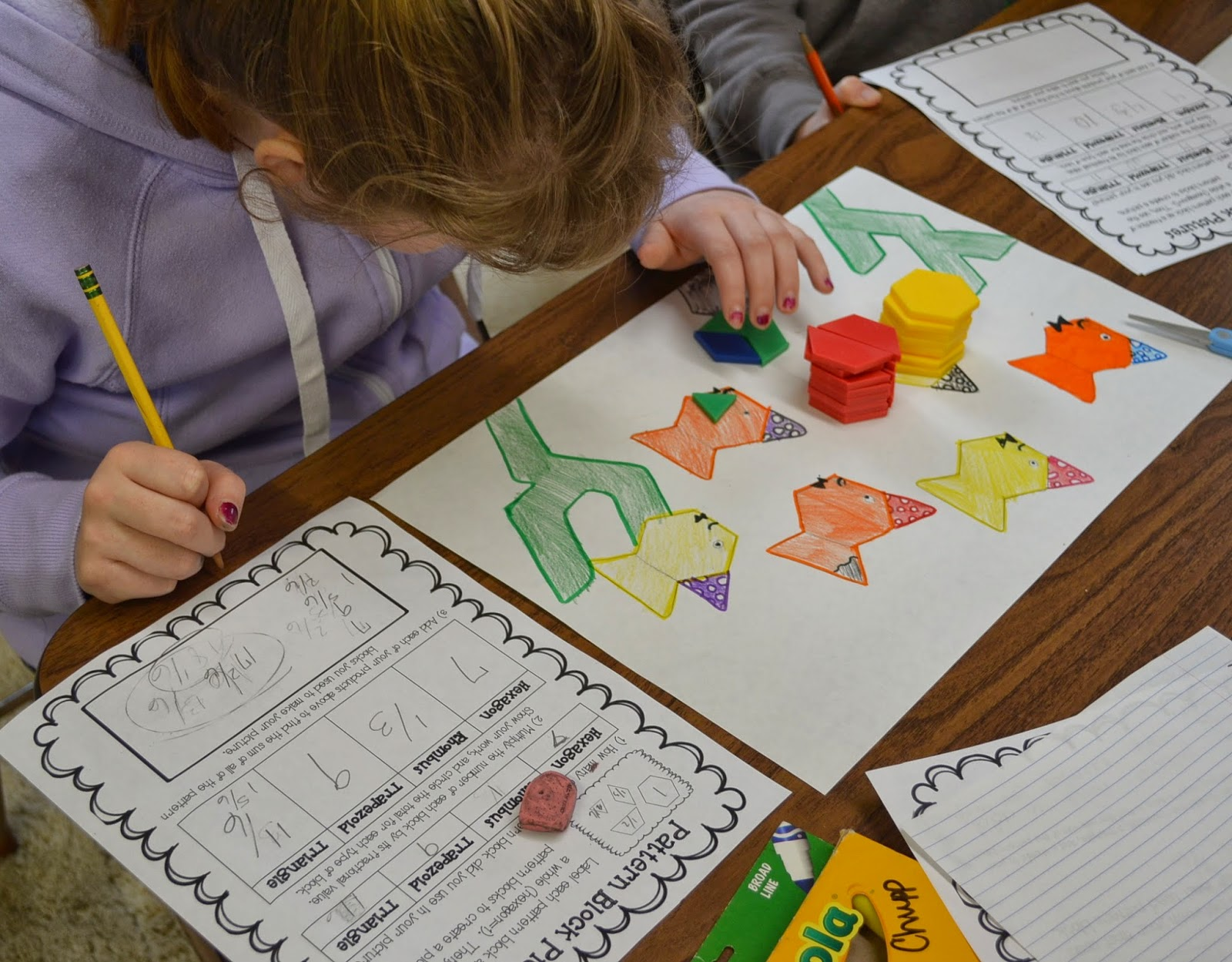 Love2learn2day Fractions Operations Review With Pattern