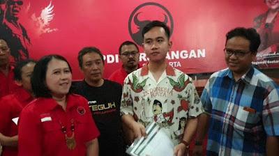 Gibran Bakal Calon Wali Kota Solo di PDIP Jateng