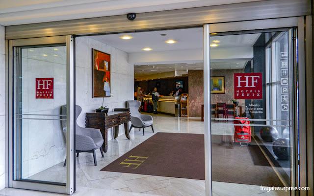 Recepção do Hotel HF Fênix Lisboa, Portugal