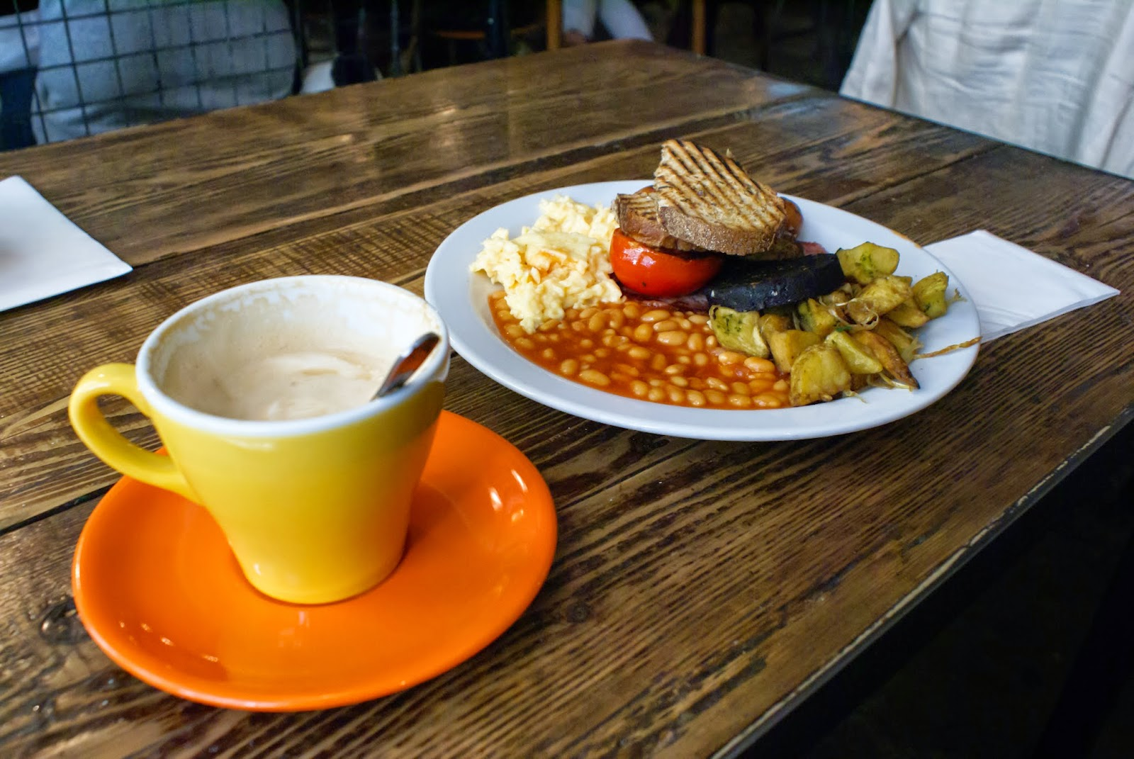 breakfast club london spitalfields united kingdom uk europe