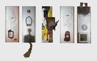 Ángel Solano, Portarretrato, 120 X 60 cm, mixta sobre PVC, 2014
