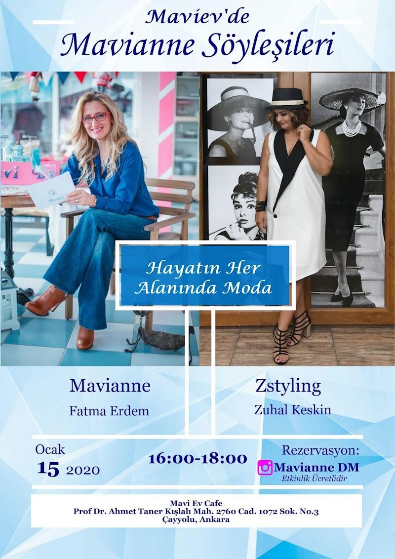 Maviev'de Mavianne Söyleşileri