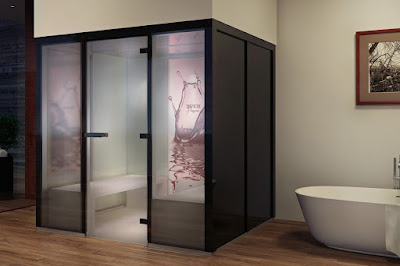 The best hight of a steam shower enclosure