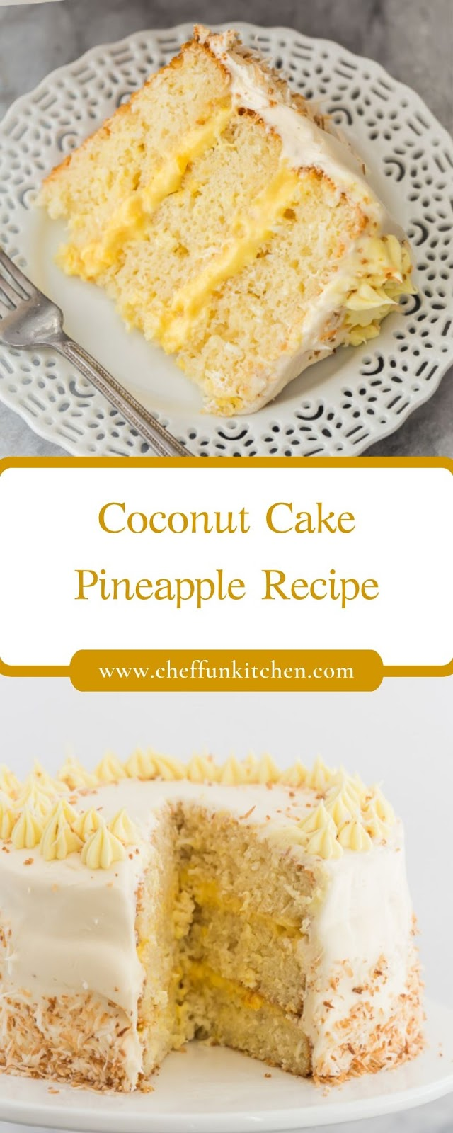 Coconut Cake Pineapple Recipe
