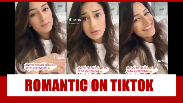 WOW! Kasautii Zindagii Kay fame Erica Fernandes gets ROMANTIC on TikTok, check here