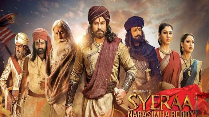 Sye Raa Narasimha Reddy (2019) Full Movie Download and Watch Online : After War, Chiranjeevi's Sye Raa Narasimha Reddy Targeted by Piracy Website Tamilrockers for Free Streaming and Download