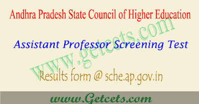 AP Assistant professor screening test results 2018,appsc assistant professor results 2018,ap asst prof exam result 2018