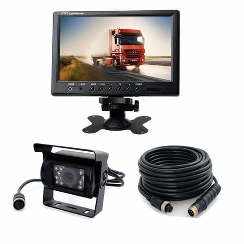 Sfrevese Vehicle Backup Camera Monitor Kit