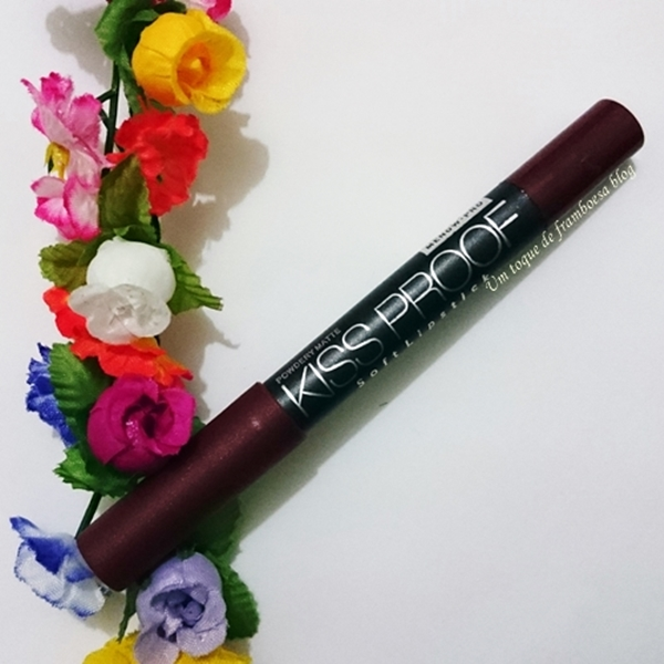 Resenha do batom MeNow Kiss Proof soft lipstick cor 11