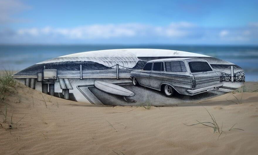 10-Parking-at-the-beach-Surfboard-Jarryn-Dower-www-designstack-co