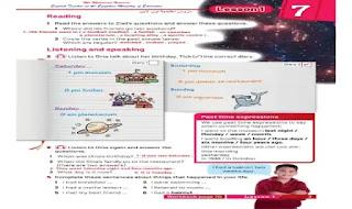 اجابات الكتاب المدرسي فى اللغة الانجليزية للصف الاول الاعدادى الترم الثانى 2020 من موقع درس انجليزي اجابات كتاب المدرسة انجليزي اولى اعدادى ترم تانى 2020