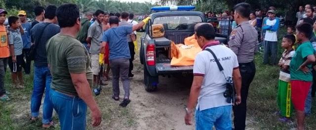 Geger! Penemuan Sesosok Mayat Pria Didalam Sungai Sei Serimah Afdeling IV PTPN III Kebun Rambutan