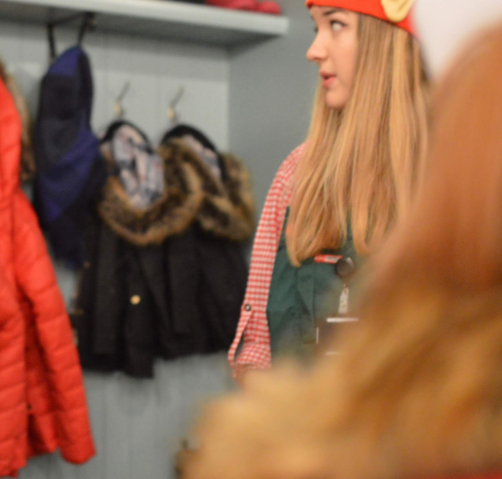 Santa on the Rooftop at Fenwick Newcastle | A Review  - barbour clothing