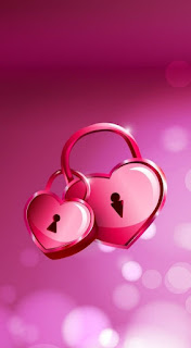 Wallpaper WA Love PInk