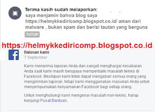 Cara Mengatasi Tautan Link DiBlokir Facebook