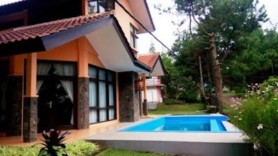 Villa Private Pool Kampung Daun Lembang