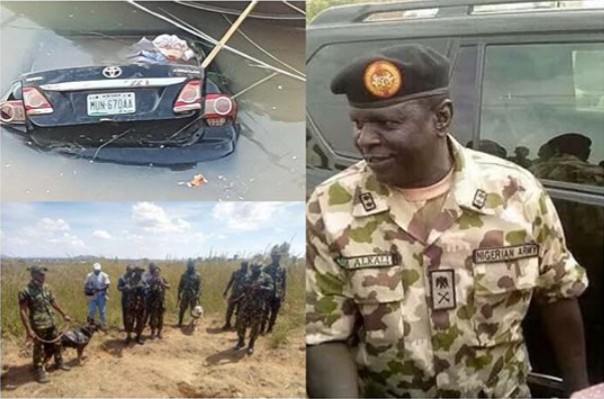 Nigerian Army finally locates grave where kidnapped general lifeless body was buried