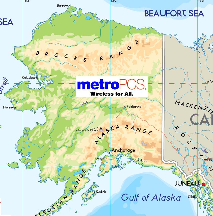 Metropcs Coverage Map. South Dakota Time Zone Map Usda Map Of South ...