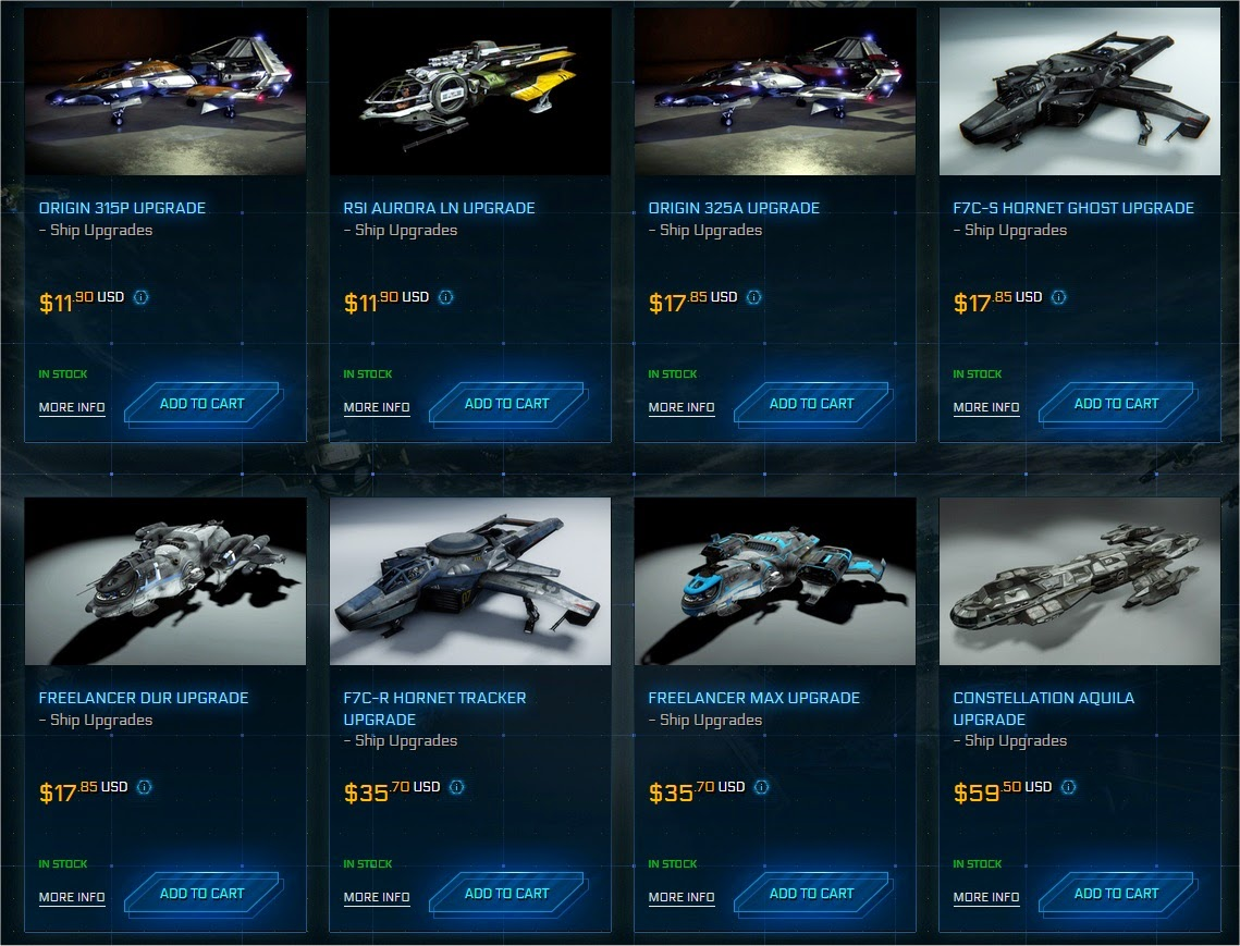 Star Citizen Shop