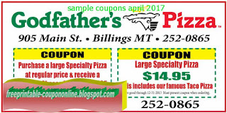 Free Printable Guidos Pizza Coupons