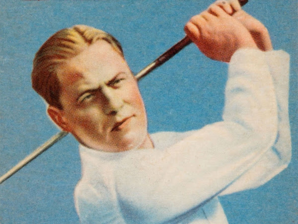 Bobby Jones cropped from Goudey trading card
