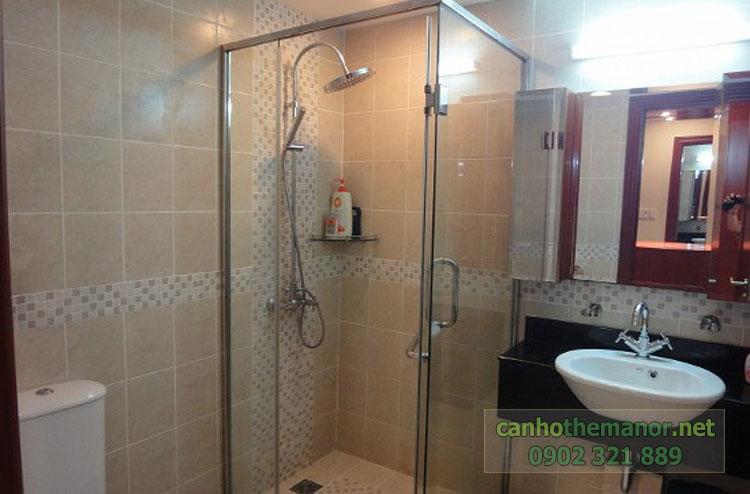 Cho thuê một số căn hộ tại The Manor 2 - phòng tắm