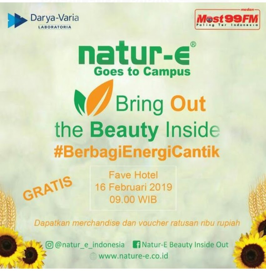 Nature-E 'Bring Out your Beauty Inside'